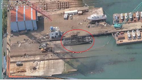 (200501)통영해경, 무인기 이용 해상순찰 중 해양환경관리법 위반 업체 적발(사진2).png